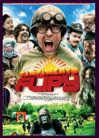 Campamento Flipy afiche película / Campamento Flipy movie poster