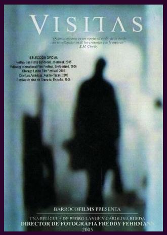 Visitas película colombiana afiche/ Visitas colombian movie poster