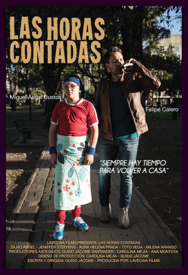 Las horas contadas película colombiana afiche Guido Jacome / Las Horas Contadas colombian movie poster Guido Jacome