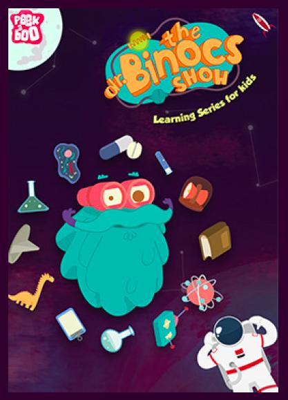 Doctor Binoculares serie animada ciencia afiche/ Dr Binocs kids science serie poster