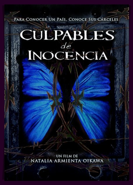 Culpables de inocencia documental afiche / Culpables de inocencia documentary poster